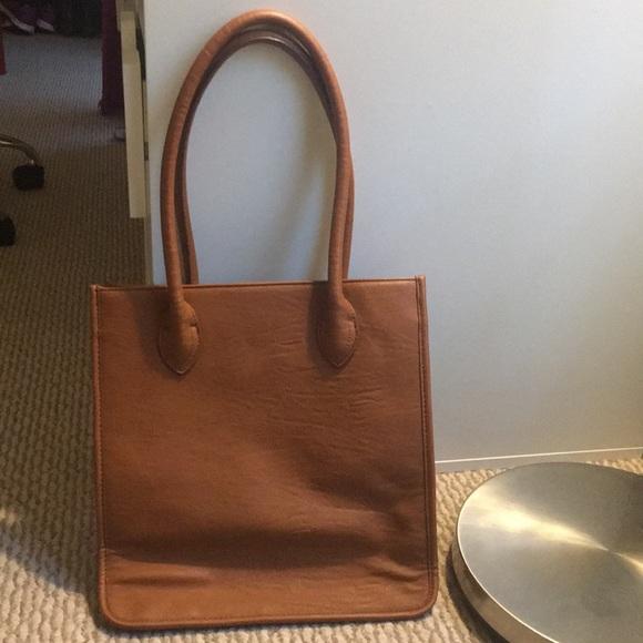 J. Crew Handbags - J crew leather style bag